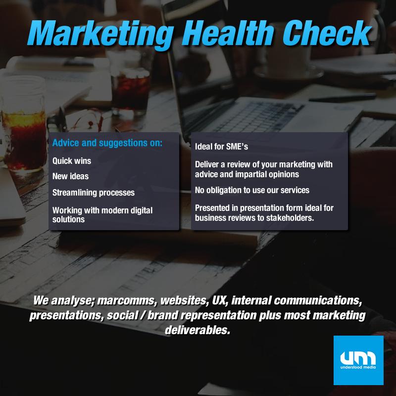 Marketing Health Check with Understood Media 2