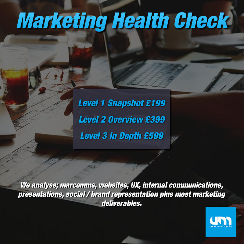 Marketing Health Check with Understood Media 1